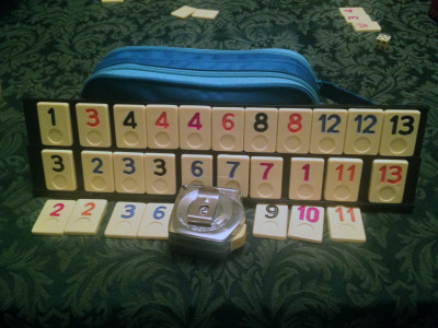 The saddest Rummikub opening in the land. Fourteen rounds in and I still couldn't open.